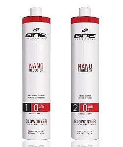 Progressiva Nano Reductor De Ojon One Professional 2x1L