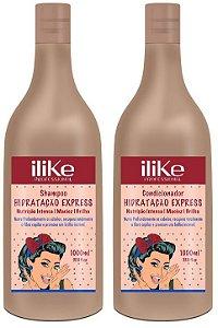 ILike Hidratação Express Kit Profissional ( 2 x 1000ml)