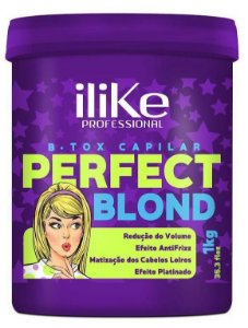 ILike Perfect Blond B.tox Capilar Matizador - 1kg