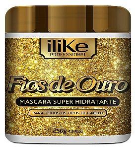 ILike Fios de Ouro Máscara Ultra Hidratante - 250g