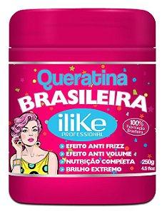 ILike Queratina Brasileira Máscara Super Nutritiva - 250g
