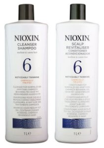 Nioxin Hair System 6 - Kit Shampoo E Condicionador 1000ml
