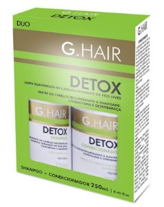 Ghair Detox Kit Duo Shampoo e Condic Anti Oleosidade  - 2x250ml