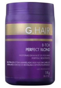 Inoar Ghair BTox Perfect Blond Matizador 1Kg