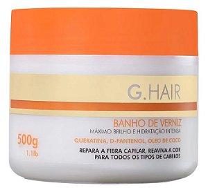 Ghair Banho de Verniz Mascara - 500g (+ Brinde)