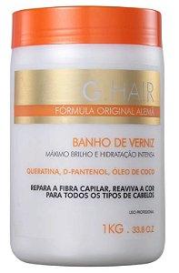 Ghair Banho de Verniz Mascara - 1kg (+ Brinde)
