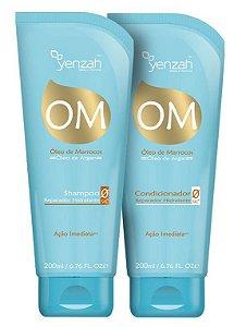 Yenzah Om Óleo de Marrocos Óleo de Argan Duo Kit (2 Produtos)