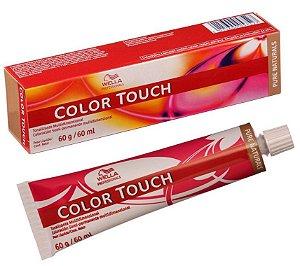 Tintura Wella Color Touch 9/01 Louro Ultraclaro Natural Acinzentado