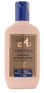Aneethun Creme de silicone com tutano e Queratina - Linha A 250ml
