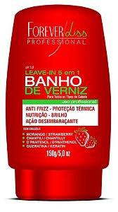 Forever Liss Leave In Banho de Verniz Morango 150g