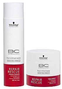 Bonacure Kit Repair Rescue Schwarzkopf (2 produtos) - Outlet
