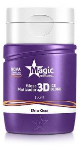 Magic Color Gloss Matizador 3D Ice Blond - Efeito Cinza 100ml