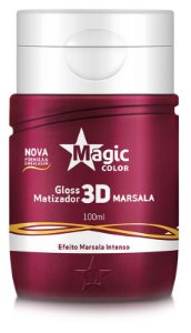 Magic Color Gloss Matizador Marsala - 100ml