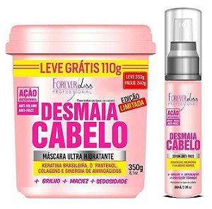 Forever Liss Desmaia Cabelo Anti Volume e Frizz Mascara 350g + Sérum