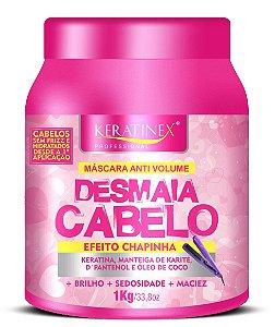 Keratinex Desmaia Cabelo Efeito Chapinha 1kg (+ Brinde)
