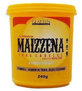 Glatten Maizzena Para Cabelos Alisamento Natural - 240g