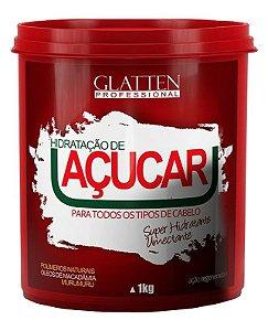 Glatten Hidratação de Açúcar Super Umectante - 1kg