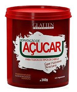 Glatten Hidratação de Açúcar Super Umectante - 240g