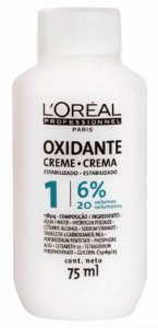 Creme Loreal Professionnel Oxidante 6% 75ml - (20 Volumes)