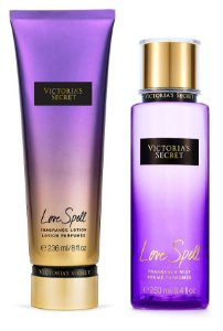 Victorias Secret Kit Hidratante + Splash Love Spell 250ml