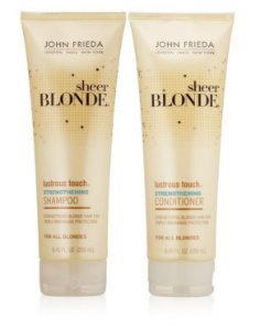 John Frieda Shampoo e Condicionador Sheer Blonde Strengthening - Kit