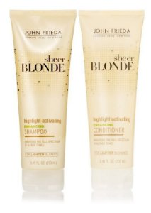 John Frieda Shampoo e Cond Sheer Blonde Highlight For Lighter - Kit