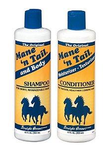 Mane n Tail Shampoo e Condicionador - Kit 2 x 355ml