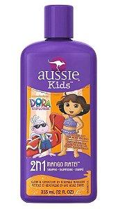 Aussie Kids Dora Mango Mate Shampoo 2 em 1 (manga)