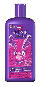 Aussie Kids Shampoo 2 em 1 Surfin Strawberry (morango)