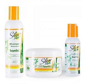Silicon Mix Kit Bambu Nutritiva (Shampoo+Cond+Máscara)