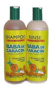 Baba de Caracol Shampoo e Condicionador 450ml