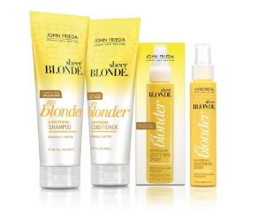 John Frieda Kit Sheer Blonde Go Blonder Lightening + Spray