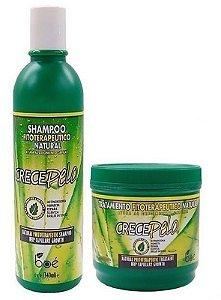 Boé Crece Pelo Kit Shampoo + Mascara 240g