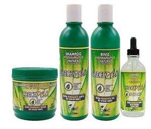 Boé Crece Pelo Kit Shampoo + Cond +  Mascara 450g + Gotero 120ml