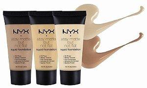NYX Base Liquida Matte SMF Foundation (vários tons)