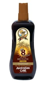 Bronzeador Australian Gold Spray Gel FPS 8 Bronzer - 237ml
