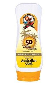 Protetor Solar Australian Gold Loção FPS 50 - 237ml