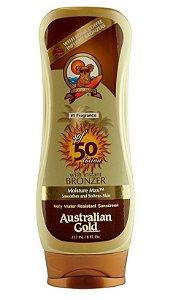 Protetor / Bronzeador Solar Australian Gold SPF 50 - 237ml