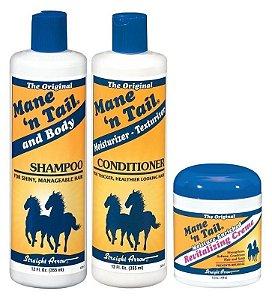 Mane n Tail Kit The Original Shampoo 355ml + Cond + Creme