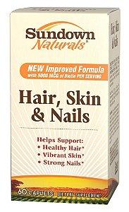 Sundown Hair Skin Nails Biotina Crescimento Cabelo - 60caps