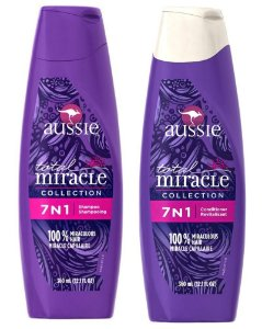 Aussie 7 em 1 Shampoo e Condicionador Total Miracle - 360ml