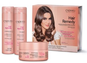 Cadiveu Professional Hair Remedy Kit Reparador  (3 itens)