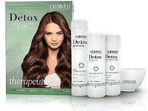 Cadiveu Detox Capilar Kit Anti Oleosidade e Crescimento (3pcs)