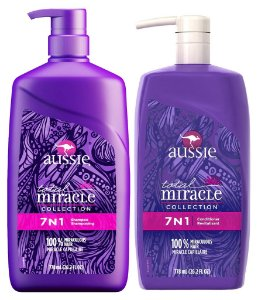 Aussie 7 em 1 Shampoo e Condicionador Miracle - 778ml