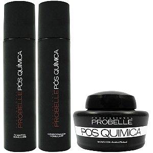 Probelle Kit Pós Química Profissional - 3x250ml