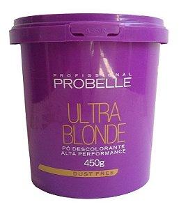 Probelle Pó Descolorante 9 Tons Ultra Blond 450g