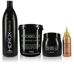 Probelle Kit Alisamento Hidrox Relaxamento Kit (4pc)