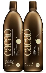 Fine Escova Progressiva Cacao Portier - Kit 2x 1Litro