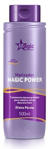 Magic Color Power Matizador 500ml - Efeito Pérola (+ Brinde)