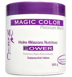 Magic Color Power Hidro Máscara Nutritiva Anti-Yellow - 500g